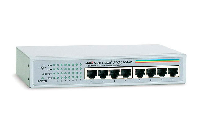 Коммутаторы GS900 Series Allied Telesis